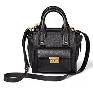 New Phillip Lim 3.1 Target Black Handbag Gold